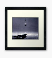 Dripology Framed Print