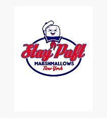 Marshmallow co. Photographic Print