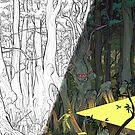 Dark Young of Sub-Niggurath (Split Image) - Art by Andrey Fetisov by Chaosium