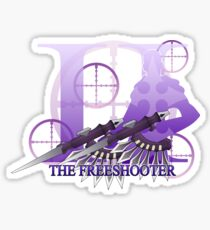 THE FREESHOOTER Sticker