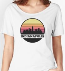 Indianapolis Skyline Women's Relaxed Fit T-Shirt