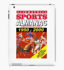 Sports Almanac 1950 - 2000 iPad Case/Skin