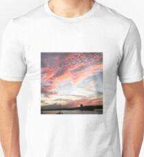 Vibrant Bay Sunset T-Shirt