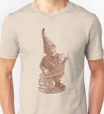GNOME CHOMSKY- Linguistic Genius and gardener  Unisex T-Shirt