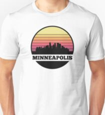 Minneapolis skyline Unisex T-Shirt