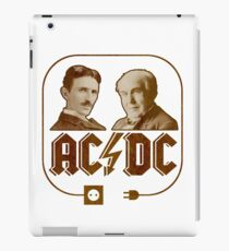AC vs DC - The Electric Men of Power iPad Case/Skin