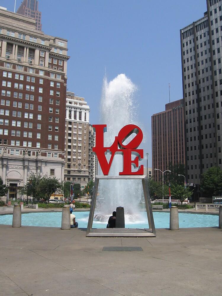 Love Park by Melanie Izzo