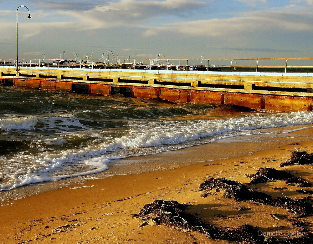 Portarlington Pier by Dee Boylan