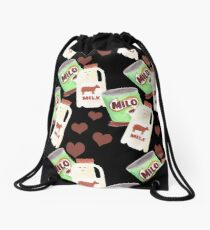 Best Friends: Milo & Milk Drawstring Bag