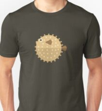 Purcupine Fish Primitive Style T-Shirt