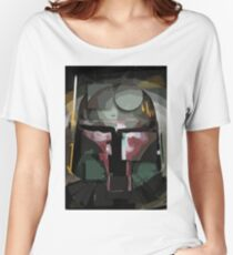 CUBE HEAD 3- Superhero Comic book style  Women's Relaxed Fit T-Shirt