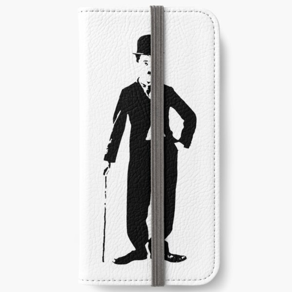 Charlie Chaplin iPhone Wallet