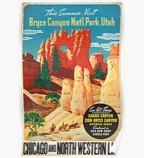 Vintage poster - Bryce Canyon Poster