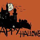 Halloween castle by Logan81