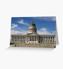 State of the Union (Utah Capitol Building) Greeting Card
