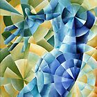 In a blue mood by atelaberlin