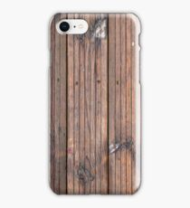 Wood texture of tree trunk, close-up, texture, background iPhone Case/Skin