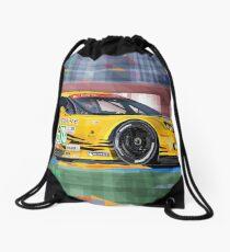 Chevrolet Corvette C6R GTE Pro Le Mans 24 2012 Drawstring Bag