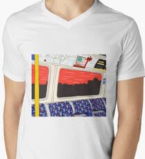 View from London Jubilee Line Men's V-Neck T-Shirt