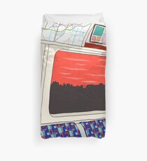 View from London Jubilee Line Duvet Cover