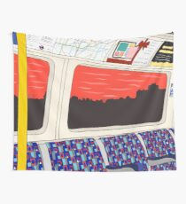 View from London Jubilee Line Wall Tapestry
