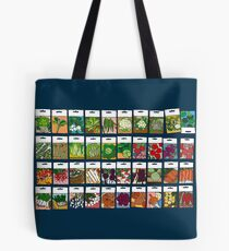 Vegetable seeds pattern Tote Bag