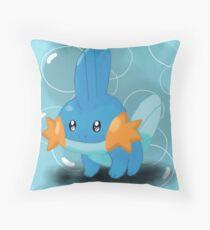 Mudkip Throw Pillow