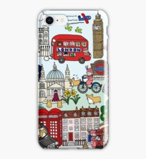 Queen's London Day Out iPhone Case/Skin