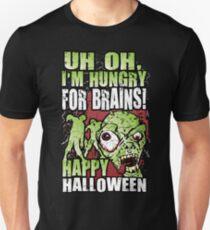 Happy Hungry Halloween Zombie T-Shirt