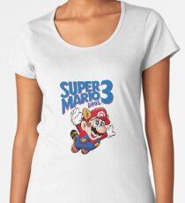 Super Mario Bros. 3 Women's Premium T-Shirt