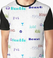 Humble Beast White Graphic T-Shirt