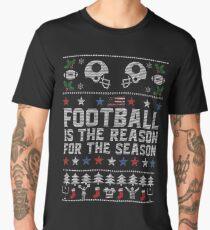 Ugly Christmas Football Men's Premium T-Shirt