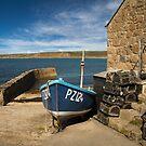 The harbour Sennen cove Cornwall by eddiej