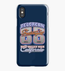 Delorean 88 Trailblazers | Back To The Future iPhone Case/Skin