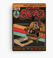 Retrorama Atari 800 Canvas Print