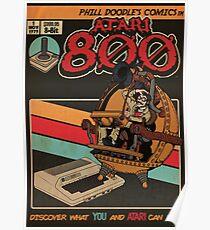 Retrorama Atari 800 Poster