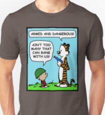 CALVIN HOBBES ARMED AND DANGEROUS T-Shirt