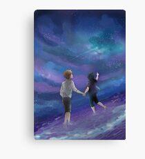 Final Fantasy XV Stars & Sea Canvas Print