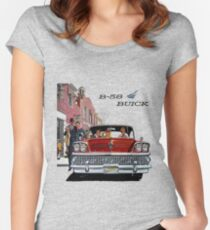 1958 Buick Fitted Scoop T-Shirt