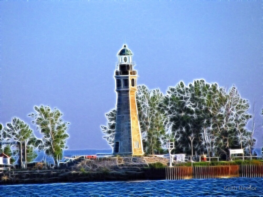Lake Erie Lighthouse by Keith Reesor