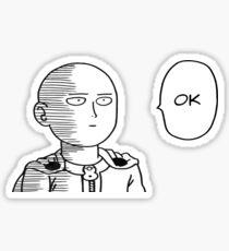 Saitama - One Punch Man Sticker