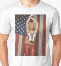 Britney Fourth of July/Rollingstone Unisex T-Shirt