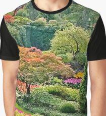 Butchart Gardens  Graphic T-Shirt