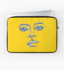 One Liner Girl Laptop Sleeve