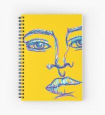 One Liner Girl Spiral Notebook