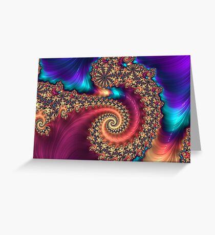 The Infinite Rainbow Greeting Card