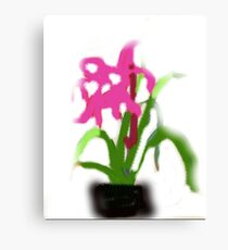 There are flowers we can look at , and others we imagine  Canvas Print
