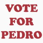 Vote For Pedro by rudeboyskunk