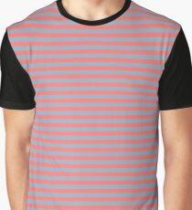 Stripes - Pink (F5) Graphic T-Shirt