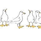 Seagulls by Wendy Howarth